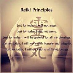 Reiki Principles: Dr. Mikao Usui