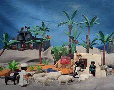 Playmobil Diorama Crusaders Crusaders, Holy Land, Christmas, Crafts, Painting, Jesus Is, Ideas, Xmas, World