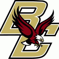 12 best ncaa boston college eagles images on pinterest boston rh pinterest com boston college logo stencil boston college logo font