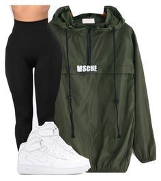 """""""Untitled #2460"""" by kayla77johnson ❤ liked on Polyvore featuring NIKE"""