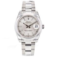 Rolex DateJust 178240 31mm Mid-Size Unisex Automatic Stainless Steel Watch #Rolex #LuxurySportStyles