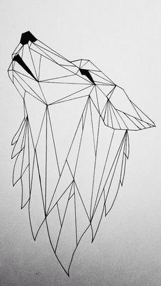 Geometric wolf by koolio1715 on DeviantArt tatuajes   Spanish tatuajes  tatuajes para mujeres   tatuajes para hombres   diseños de tatuajes http://amzn.to/28PQlav