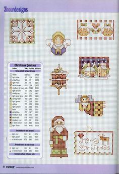 Gallery.ru / Фото #15 - Cross Stitch Crazy 028 декабрь 2001 - tymannost