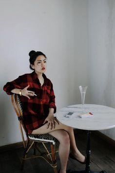 """""""Portrait of Sylvia Von Harden""""remake by Stephan Hoffman & SoYeon Kim from the booooooom.com remake challenge."""