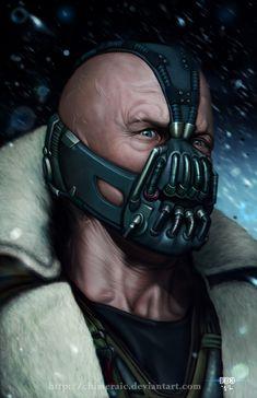 The Bane of Gotham by chimeraic