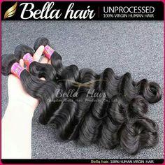 loose wave 7A grade hair weaving