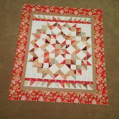 Still love this charmed star quilt in Tapestry fabric. #TBT #showmethemoda…