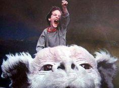 7354cf3f8 we could fly on that big dog from never ending story  scaredofflying  Aquellos Maravillosos Años