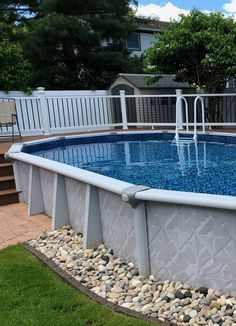 Above Ground Pools are the most effective alternative for resident who want a swimming pool however aren't ready for the much more costly choice of putting in an in-ground pool. Above Ground Pool Landscaping, Backyard Pool Landscaping, Backyard Pool Designs, Swimming Pool House, Swimming Pools, Outside Patio, Pool Maintenance, Pool Decks, In Ground Pools