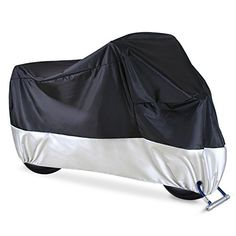 """Ohuhu Waterproof Motorcycle Cover, Fits up to 108"""" Motors, 2 Anti-theft Lock-holes Design, Durable & Tear Proof, for Honda, Yamaha, Suzuki, Harley and More. For product info go to:  https://www.caraccessoriesonlinemarket.com/ohuhu-waterproof-motorcycle-cover-fits-up-to-108-motors-2-anti-theft-lock-holes-design-durable-tear-proof-for-honda-yamaha-suzuki-harley-and-more-2/"""