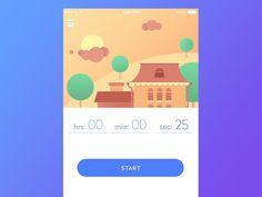 UI in Action. 15 Animated Design Concepts of Mobile UI. — Medium