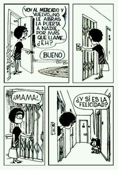 mafalda by jerry Bd Comics, Funny Comics, Mafalda Comic, Mafalda Quotes, Frases Humor, Humor Grafico, Amazing Adventures, More Than Words, Happy Thoughts