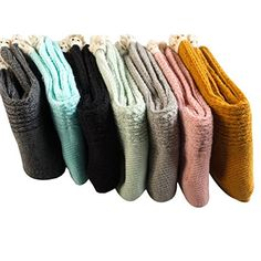Generic Womens Calf High Knitwear Boot Socks in pack of 6 WZW0054 * To view further for this item, visit the image link.