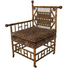Victorian Photographer's Chair