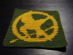 #hungergames crochet chart http://www.ravelry.com/patterns/library/mockingjay-chart-small-version-the-hunger-games