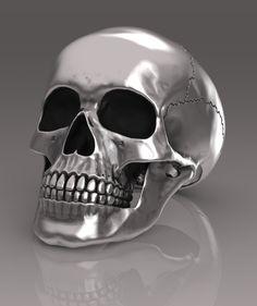 Anatomical full skull ring