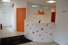 Un cabinet de dentiste rassurant, par Esther et Alliette, architectes d'intérieur MH DECO au Havre