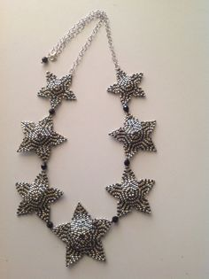 Star necklace inspired by Diane Fitzgerald.