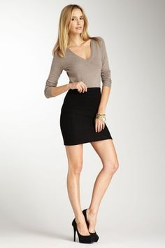 work outfit. I like the concept. But I think I would prefer the skirt longer
