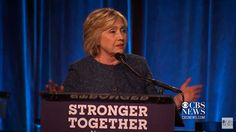 Hillary: Ripping The Nation Apart Under the Banner of 'Togetherness' - http://www.raptureforums.com/politics-culture-wars/hillary-ripping-nation-apart-banner-togetherness/