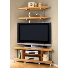 Oak Corner Tv Unit, Flat Screen, The Unit, Furniture, Home Decor, Blood Plasma, Decoration Home, Room Decor, Flatscreen