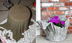 Fresh flowers and plants are not the only choice to dress up your home's outdoor. Sometimes, an unexpected planter can greatly increased the beauty of outdoor landscaping. Just like this interesting project we're showcasing involves making an awesome draped planter from an old towel or a fleece blanket! It is a fabulous DIY idea, and […]