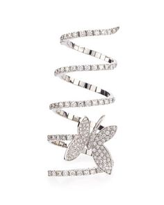 Magic+Snake+Diamond+Butterfly+Ring+by+Staurino+Fratelli+at+Neiman+Marcus.