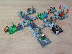 Totobricks: LEGO 3860 LEGO BOARD GAMES HEROICA Castle Fortaan Lego Board Game, Lego Boards, Board Games, Castle, Games, Tabletop Games, Castles, Table Games