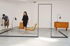 Laura Fulmine-Designed Stand For Osi Modern At Design Junction, Part Of The 2014 London Design Festival.