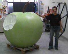 Big apple...