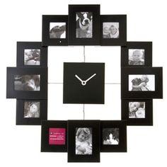 Family Time Photo Frame Clock