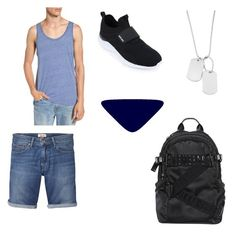 """Armen Jones"" by dismember on Polyvore featuring Alternative, Tommy Hilfiger, Variations, Bikkembergs, men's fashion and menswear"