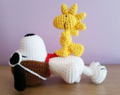 Amigurumi Patterns Snoopy : Images of crocheted free snoopy patterns crochet pattern free