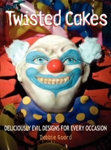 "Read ""Twisted Cakes Deliciously Evil Designs for Every Occasion"" by Debbie Goard available from Rakuten Kobo. A show-stopping cookbook like no other, Twisted Cakes features arresting, eye-catching designs and instructions for crea. Music Games, Clowns For Birthday Parties, Halloween Wedding Cakes, Creepy Clown, Adult Halloween, Halloween Foods, Halloween Town, Halloween Costumes, Scary Movies"