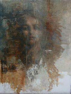 "Saatchi Art Artist Mara Light; Painting, ""Decendance"" #art"