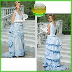 Butterick 5696 Victorian Bustle Dress & Boned Top Patterns