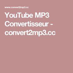 YouTube MP3 Convertisseur - convert2mp3.cc