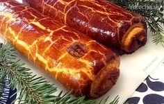 V niektorých rodinách na Vianoce bajgle nesmú chýbať:-) Tiež sú trvanlivejšie, upiekla  som makové a orechové. Food And Drink, Bread, Baking, Ethnic Recipes, Advent, Basket, Brot, Bakken, Breads