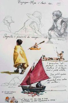 Une Bretagne par les Contours / Brignogan-plages