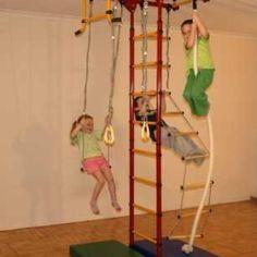 Indoor Child Gym Structure.