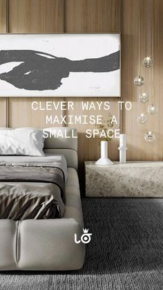 Small Space Living, Small Spaces, Small Space Solutions, Small Apartments, Home Interior Design, Diy Furniture, Couch, Architecture, October