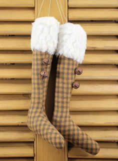 Hey, I found this really awesome Etsy listing at https://www.etsy.com/listing/252790330/stockings-ornaments-old-gold-fleece-2