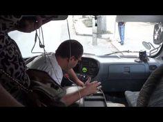 Обдолбанный водитель маршрутки