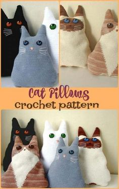 #crochet #Trendy #Crochet #Cat  Trendy Crochet Cat Accessories Patterns Ideas