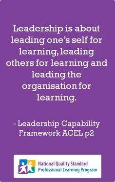 Leadership in the ECEC sector