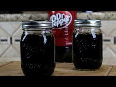 Dr Pepper is a Texas staple, and now you can make your very own Dr Pepper jelly out of this popular soda pop at home with this easy video to guide you. Home Canning Recipes, Jam Recipes, Grape Jelly, Jam And Jelly, Homemade Jelly, How To Make Homemade, Dr Pepper Jelly Recipe, Chutney, Dr. Pepper