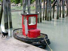 mini tug boat