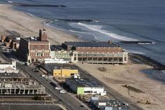 11/29/12 Aerial view of Asbury Park during a helicopter tour with Mayor Ed Johnson Thursday November 29. Staff photo Tanya Breen
