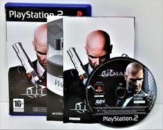 PLAYSTION 2 HITMAN CONTRACTS KILLING GAME GAMING PS1 PS2 PS3 PAL LO-INTERACTIVE
