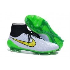 Nike Mens Magista Obra FG with ACC Football Boots Soccer Cleats White  Fluorescent Green 5f9b8859a5033